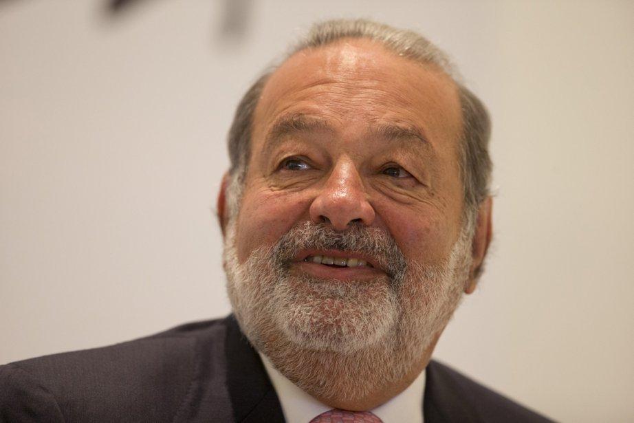 Le milliardaire mexicain Carlos Slim est à la... (PHOTO DARIO LOPEZ-MILLS, AP)