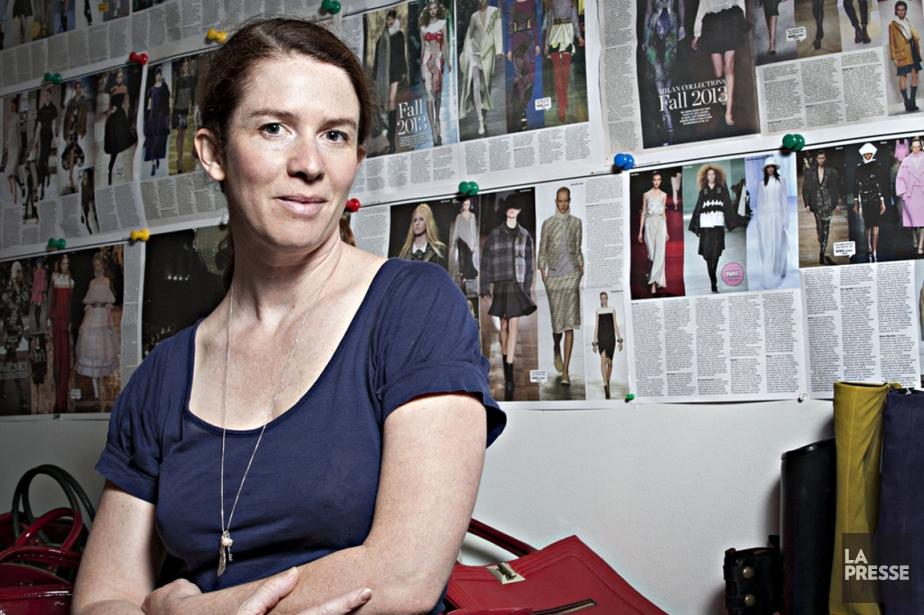 Véronique Delisle passe ses journées entourée de chaussures haut de gamme, de...