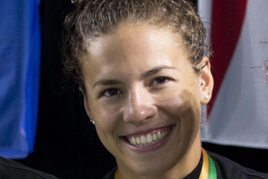 Ariane Mainville, de Boucherville, a réalisé le coup... (Photo Jacques Boissinot, La Presse Canadienne)