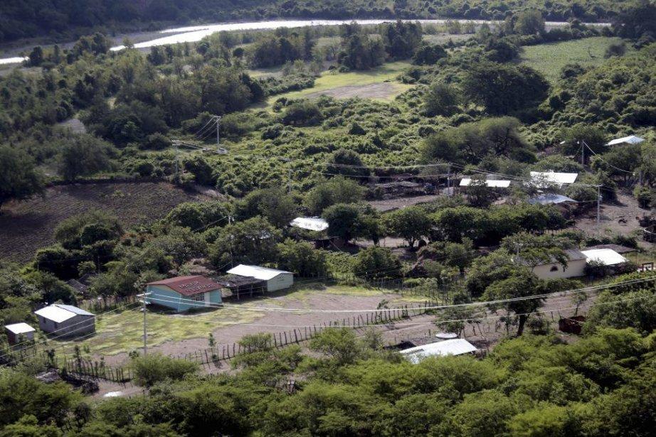 Vue sur le village d'Ixtayotla dans l'État de... (PHOTO PEDRO PARDO, AFP)