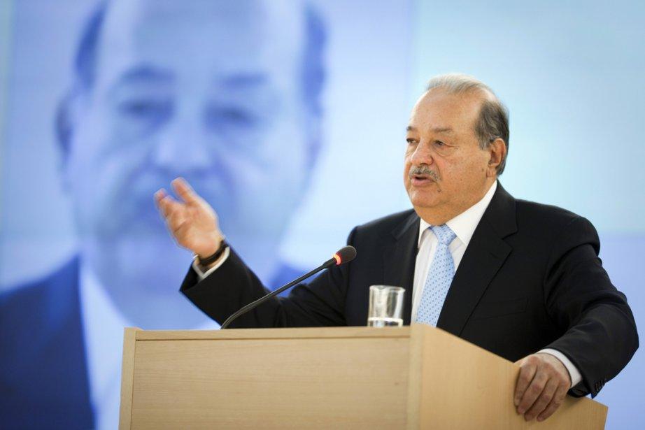 Carlos Slim a été classé ces quatre dernières... (PHOTO VALENTIN FLAURAUD, REUTERS)