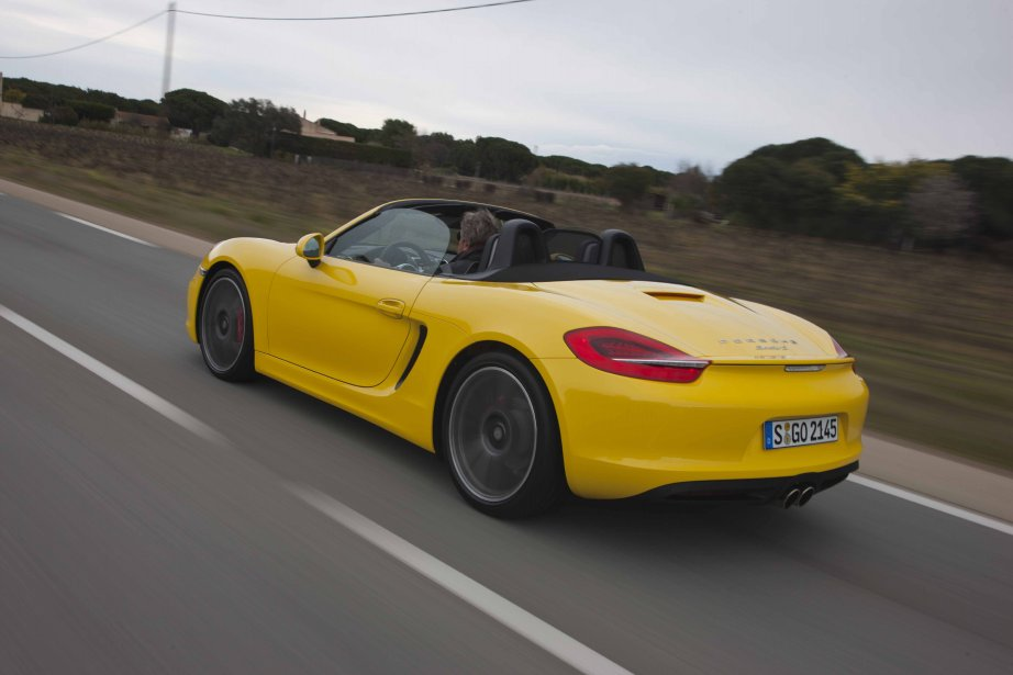 Porsche Boxster S (Photo fournie par Porsche)