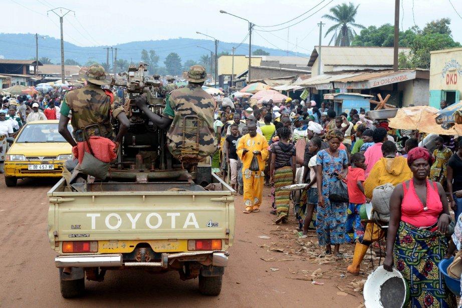 La situation est particulièrement chaotique en province «où... (Photo XAVIER BOURGOIS, AFP)