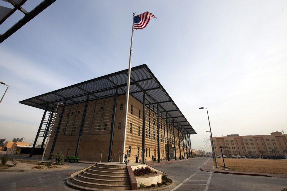 L'ambassade américaine à Bagdad.... (Photo Lucas Jackson, Reuters)