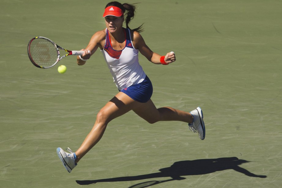 Sorana Cirstea, a causé la surprise en battant... (Photo Mark Blinch, Reuters)