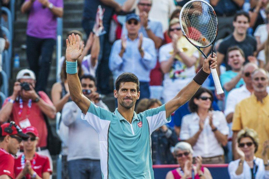 Novak Djokovic a pulvérisé Richard Gasquet 6-1, 6-2... (PHOTO  ROGERIO BARBOSA, AFP)