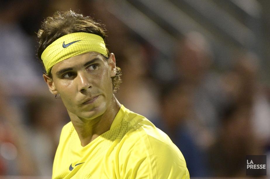 Nadal a mis la table pour un duel... (Photo Bernard Brault, La Presse)
