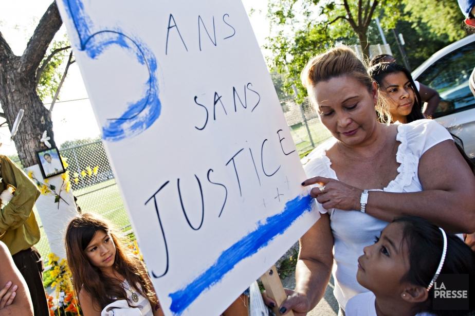 La maman de Fredy, Lilian Antunes Villanueva.... (PHOTO ANNE GAUTHIER, LA PRESSE)