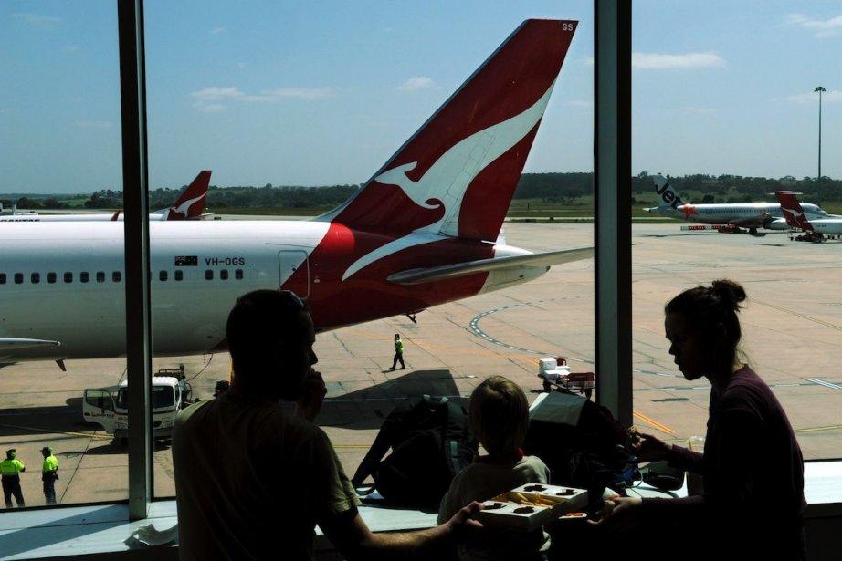 Le Boeing avec 175 passagers à bord a... (PHOTO Torsten BLACKWOOD, AFP)