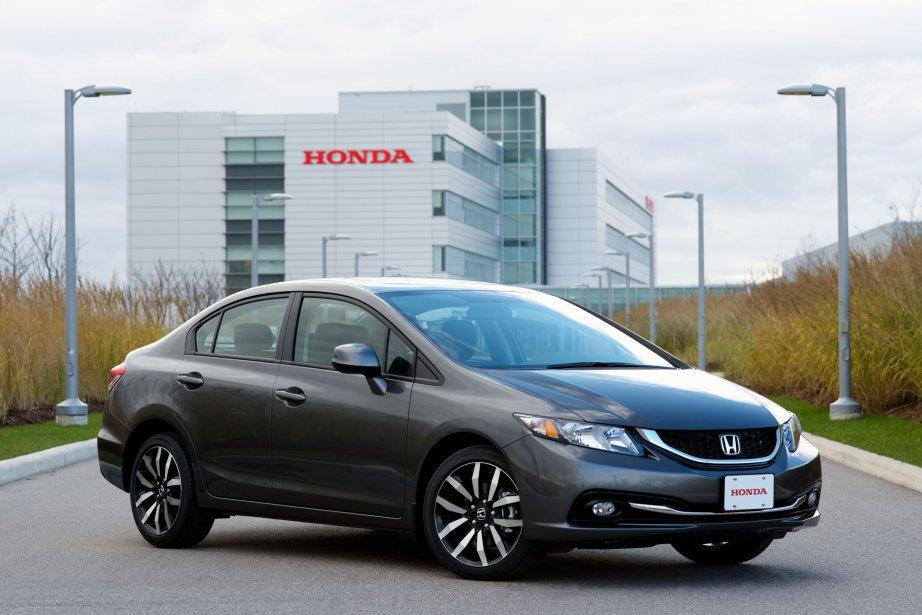 Seule la Honda Civic (coupé et berline) a... (Photo fournie par Honda)