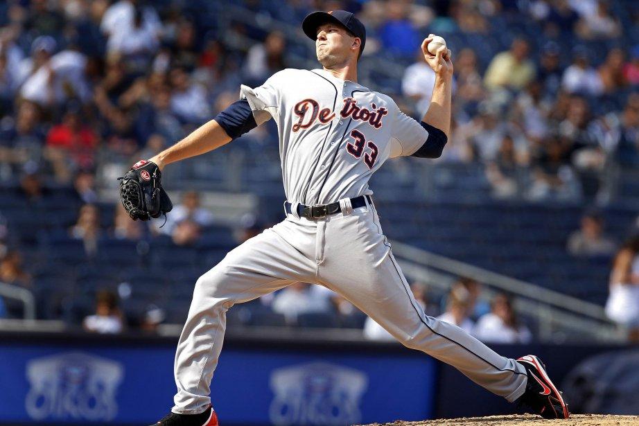 Le releveur des Tigers, Drew Smyly.... (Photo Adam Hunger, Reuters)