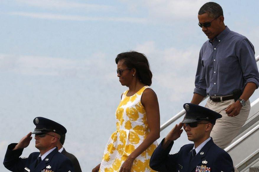 M. Obama et sa famille prévoient de rester... (Photo Larry Downing, Reuters)