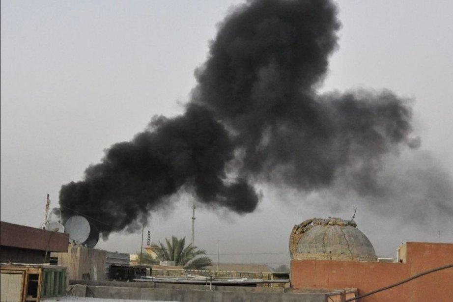 Le ramadan a été particulièrement meurtrier en Irak... (Photo AP)