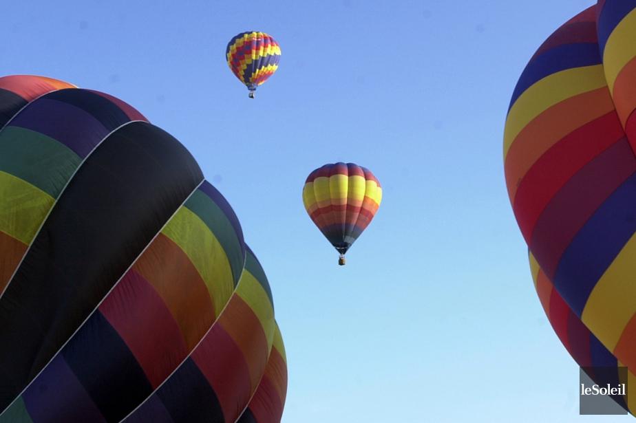 L'International de montgolfières de... (Photothèque Le Soleil)