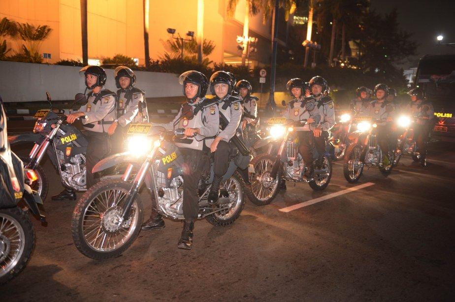 La police nationale affirme que 471 personnes sont... (Photo ROMEO GACAD, AFP)