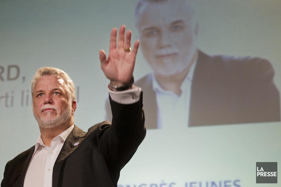 Dans son discours de clôture du congrès de... (PHOTO IVANOH DEMERS, La Presse)