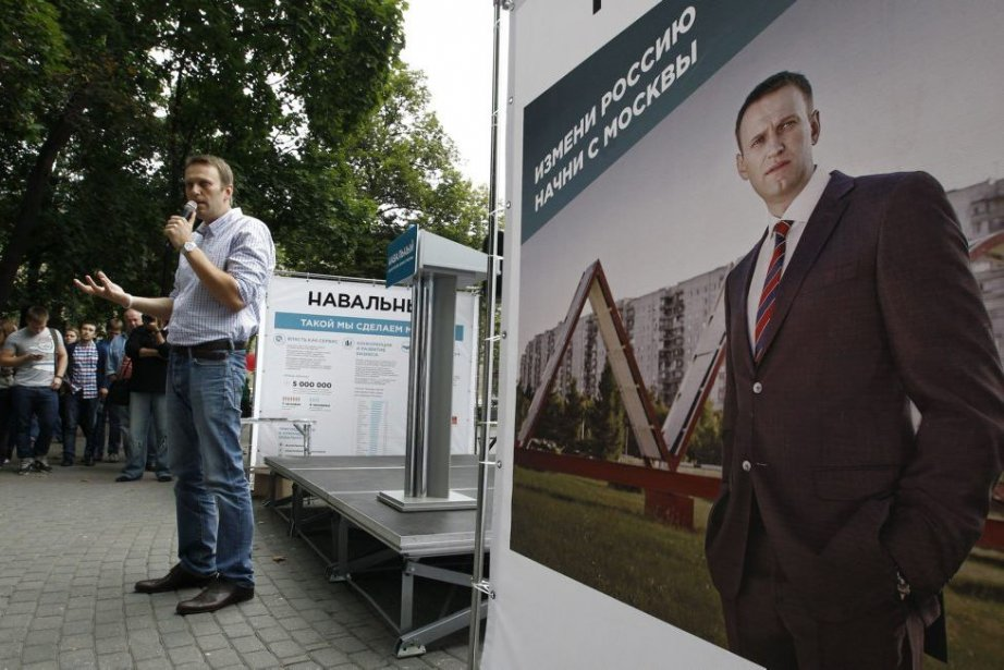 Alexei Navalny... (Photo Sergei Karpukhin, Reuters)