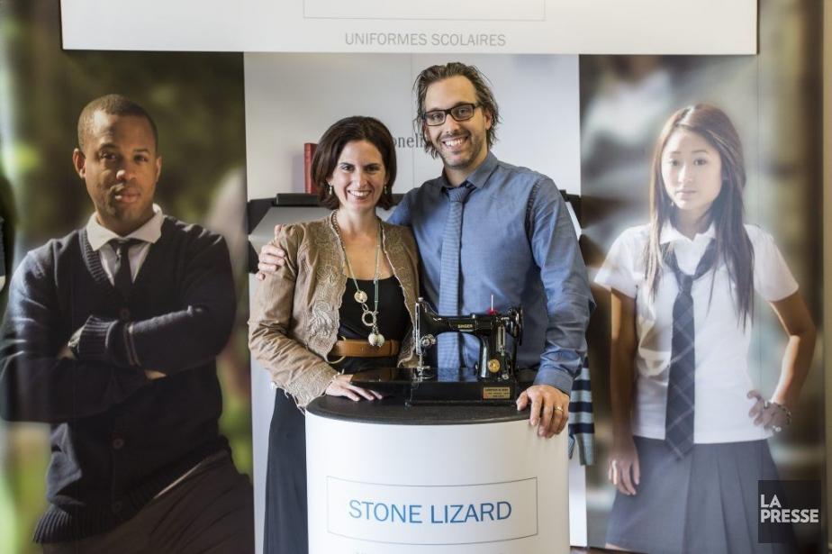 Tammy Hattem et Patrick Lesage, cofondateurs de l'entreprise... (PHOTO OLIVIER PONTBRIAND, LA PRESSE)