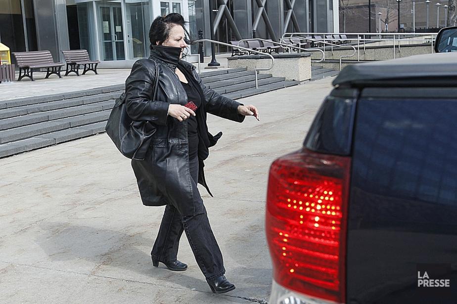 La secrétaire Sylvie Chassé a été arrêtée en... (Photo Ivanoh Demers, archives La Presse)