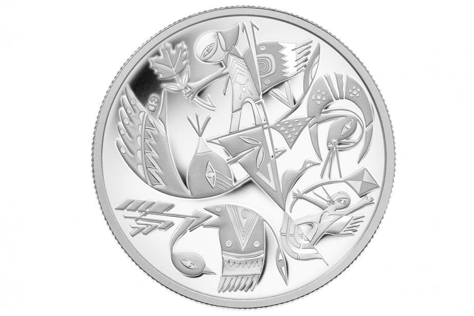 La pièce de collection évoque «la fusion et... (Photo: fournie par la Monnaie royale canadienne)