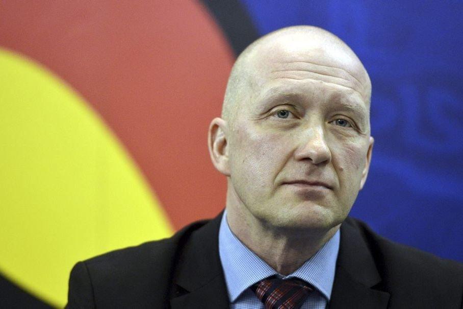 Jarmo Kekalainen,le directeur général des Blue Jackets.... (PHOTO ARCHIVES AFP)