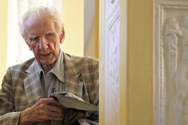 Les autorités hongroises affirment qu'en 1944, LaszloCsatary était... (Photo: Reuters)