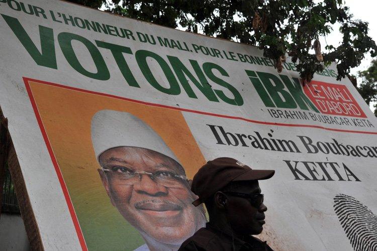 Ibrahim Boubacar Keïta, 68 ans, est un cacique... (Photo: AFP)