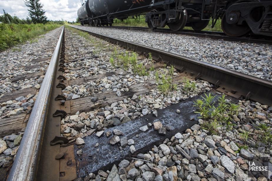 Contrairement aux pipelines, les projets ferroviaires ne sont... (PHOTO EDOUARD PLANTE-FRÉCHETTE, LA PRESSE)