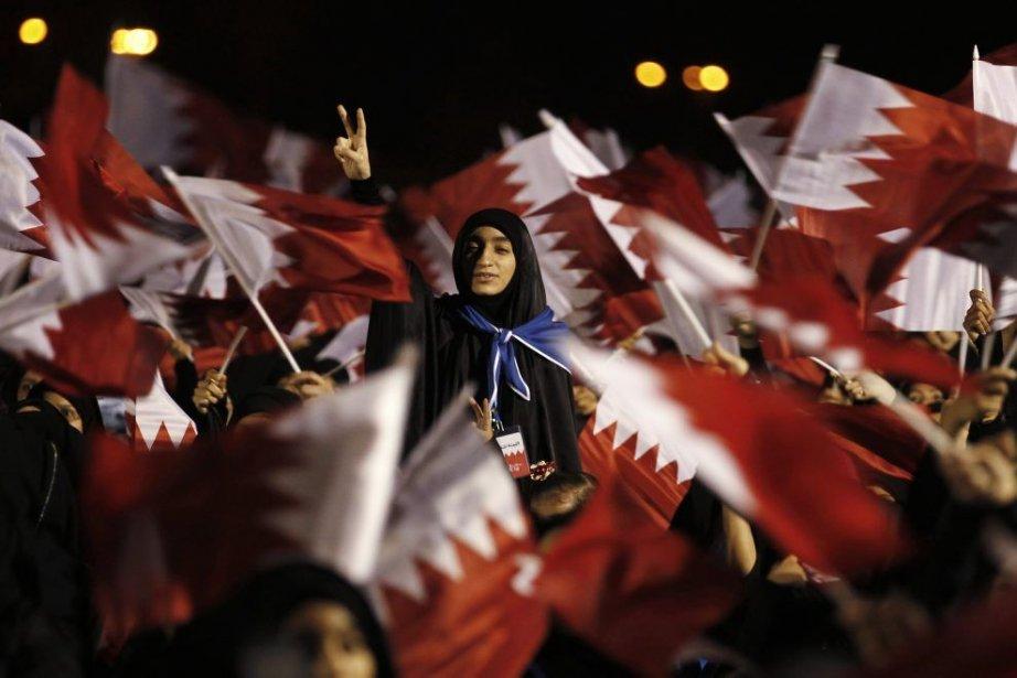 Une protestation au Bahrein, en 2012.... (Photo Hamad I Mohammed, Reuters)