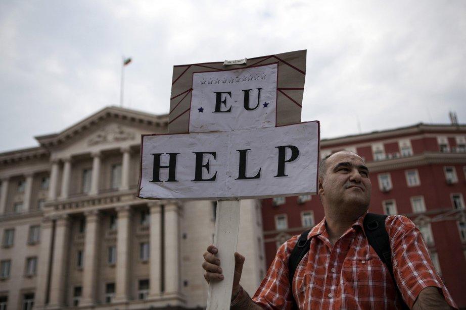 La Bulgarie a connu une vague d'immolations par... (Photo Reuters)