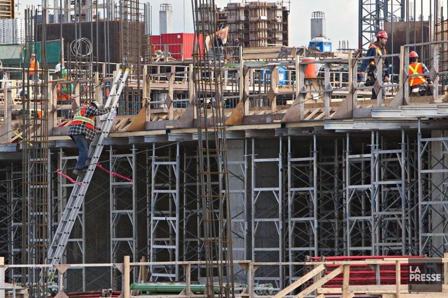 L'industrie québécoise de la construction est... (PHOTO ARCHIVES LA PRESSE)