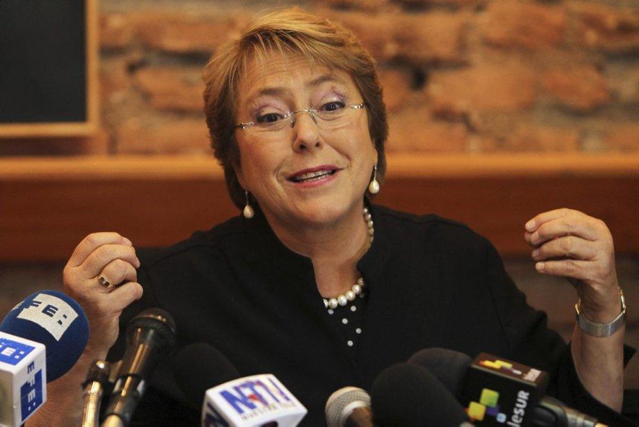 L'ancienne présidente Michelle Bachelet est la favorite des... (Photo Mario Ruiz, Reuters)