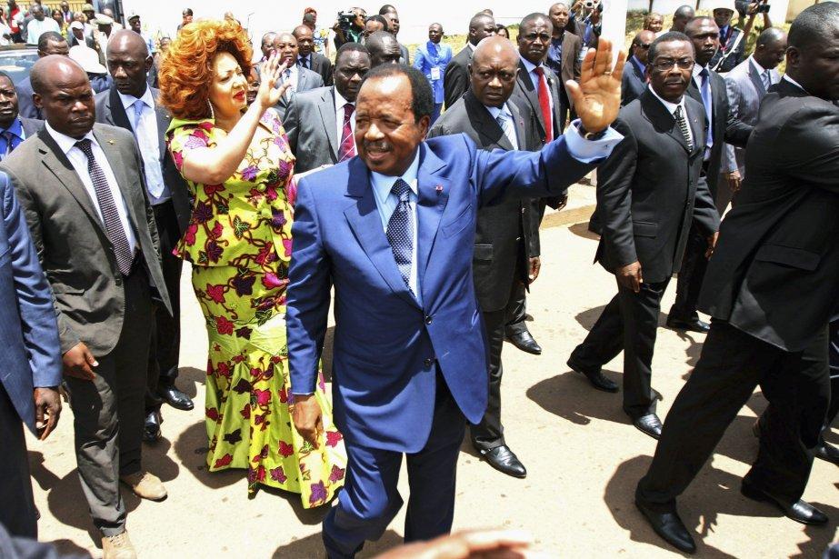 Le président du Cameroun Paul Biya.... (Photo Akintunde Akinleye, Reuters)