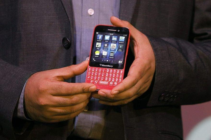 Le meilleur scénario pour les investisseurs de BlackBerry:... (Photo Associated Press)