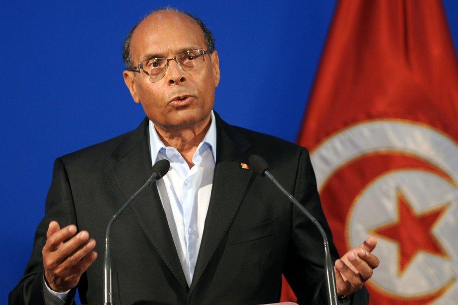 Le président tunisien Moncef Marzouki... (Photo Fethi Belaid, Agence France-Presse)