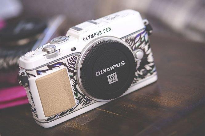 Chaque appareil est unique car peint à la... (Photo Olympus)