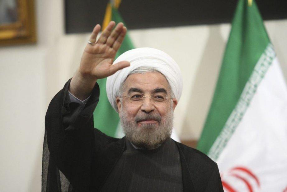 Le nouveau président iranien, le modéré Hassan Rohani,... (Photo Reuters)