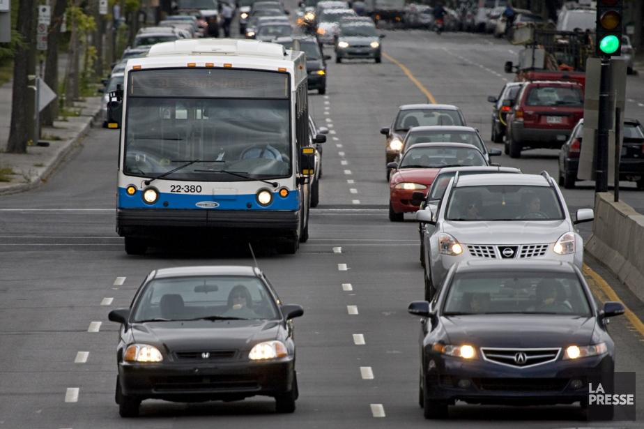 Parmi les quelques réalisations du plan de transport... (PHOTO FRANÇOIS ROY, ARCHIVES LA PRESSE)