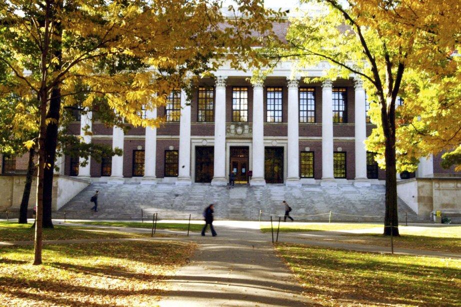 Le campus de l'université Harvard.... (PHOTO FOURNIE PAR LE SERVICE DES COMMUNICATIONS DE L'UNIVERSITÉ HARVARD)