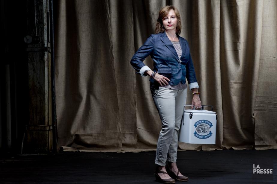 Jennifer Davidson, directrice générale de Six Pintes, qui... (Photo Marco Campanozzi, La Presse)