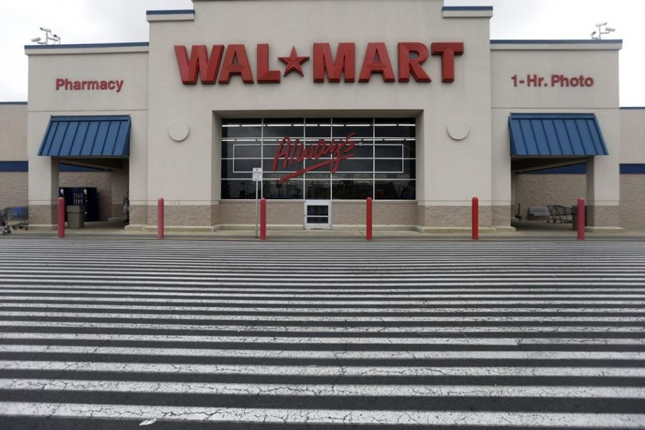 Le numéro un mondial de la distribution Wal-Mart ( (Photo AP)