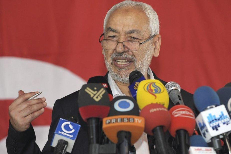 Rached Ghannouchi a une nouvelle fois balayé les... (Photo Fethi Belaid, Agence France-Presse)