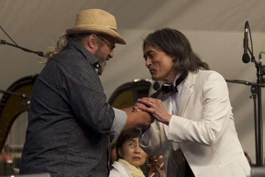 Yves Lambert  et Kent Nagano | 15 août 2013
