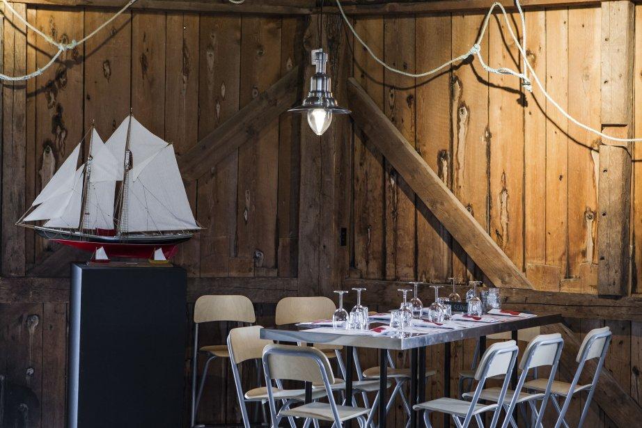 La Queue de homard, un chic shack. (Photo Édouard Plante-Fréchette, La Presse)