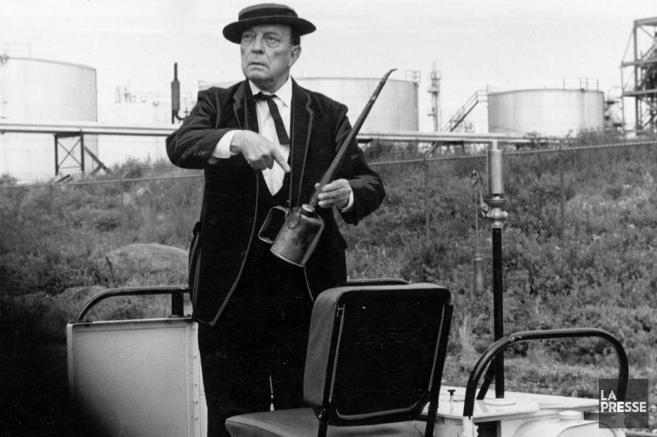 Buster Keaton dans une scène du film The... (Photo: archives La Presse)