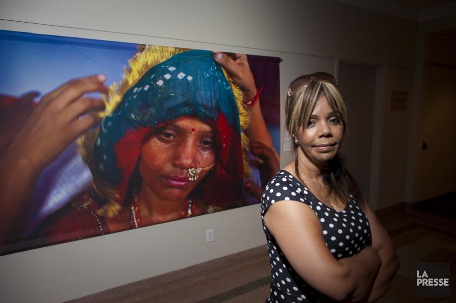 Samia Shariff, qui a connu le mariage forcé,... (Photo André Pichette, La Presse)