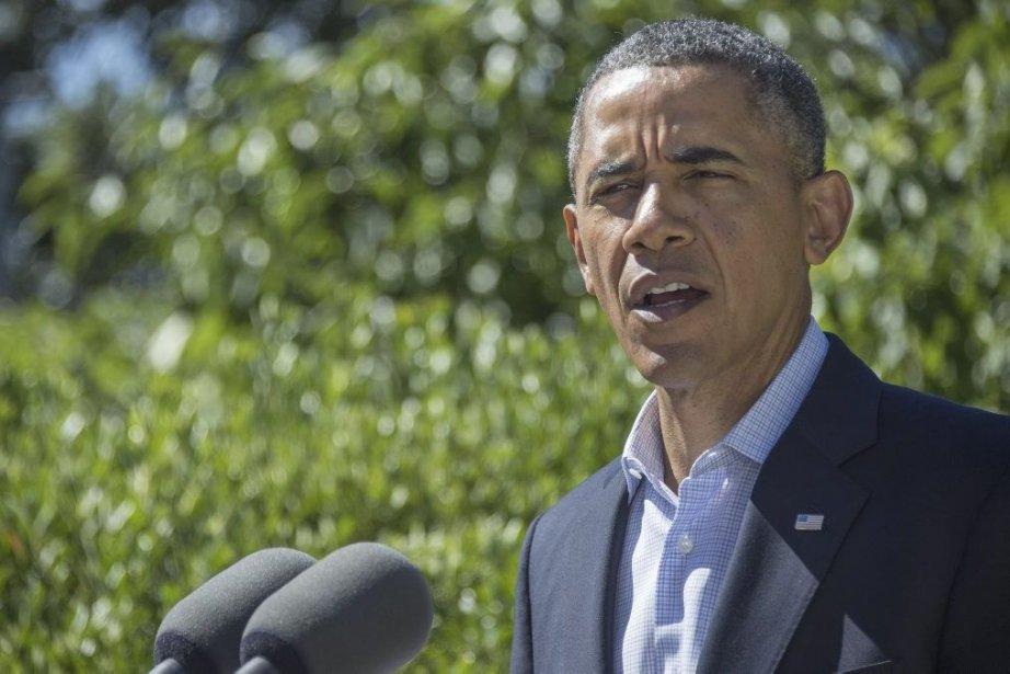 Le président américain Barack Obama.... (Photo Jim Watson, Associated Press)