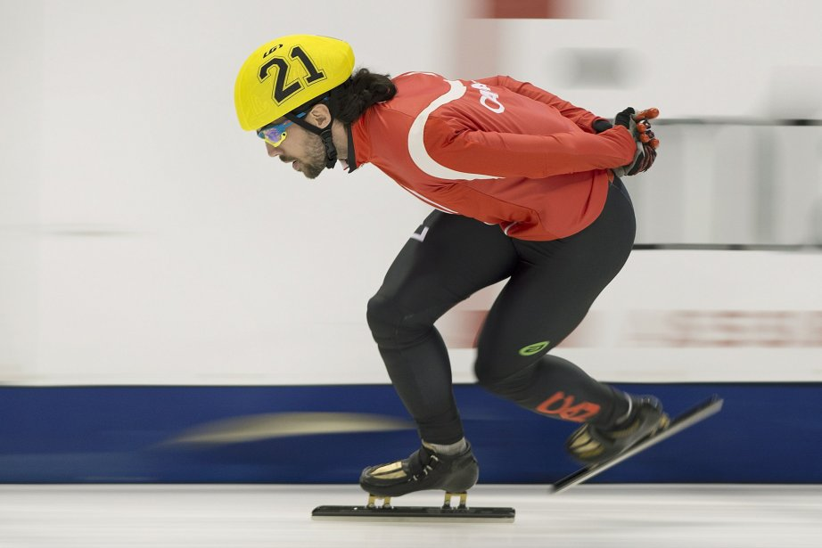 Les patineurs de vitesse Charles... (Photo Graham Hughes, La Presse Canadienne)
