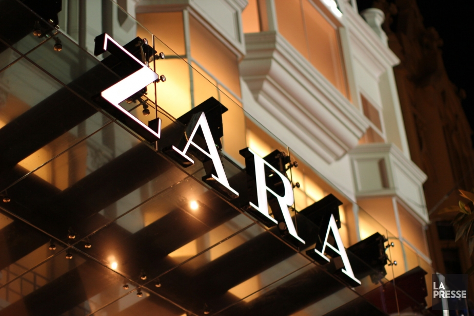Depuis l'ouverture de la première boutique Zara, en... (Photothèque La Presse)