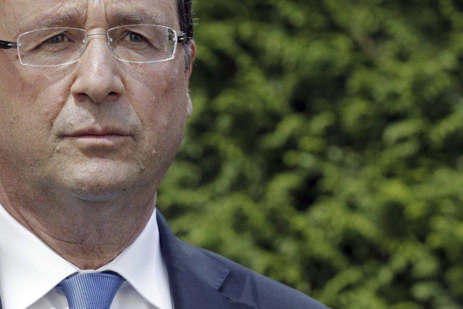 M. Hollande avait exprimé au diplomate la «très... (Photo Christian Hartmann, Agence France-Presse)